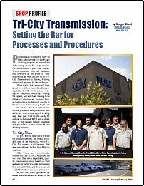 Tri City Transmission Featured in ATRA's Gears Magazine